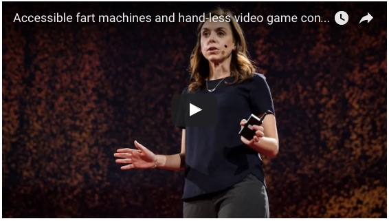 youtube screenshot of Holly Cohen's TED talk